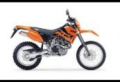 KTM SX  Seite rechts, , Orange