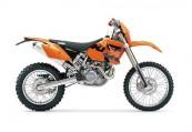 KTM XC  Seite rechts, , Orange