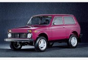 LADA   Front + links, Stationwagon, Rot
