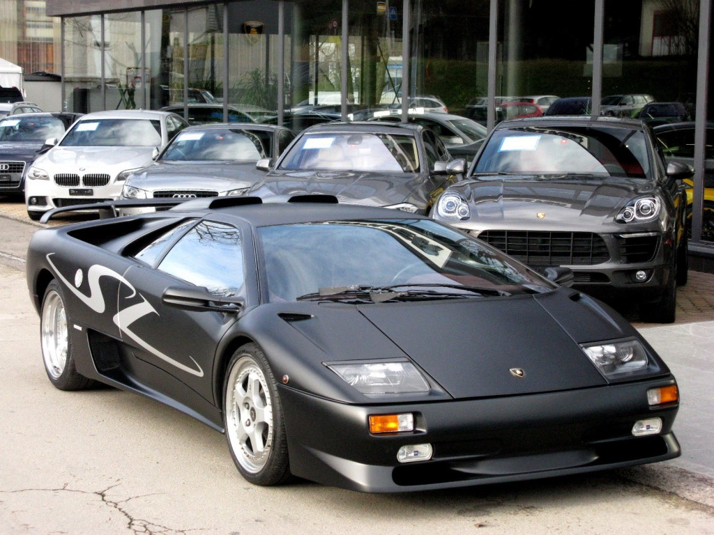 lamborghini diablo 5 7 sv occasion benzin 44 39 500 km chf 268 39 500. Black Bedroom Furniture Sets. Home Design Ideas