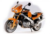 LAVERDA   Front + links, , Hellrot