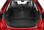 MAZDA 2 Kleinwagen Front + links, Hatchback, Rot