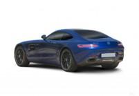 MERCEDES-BENZ AMG GT Coupé Front + links, Coupé, Blau