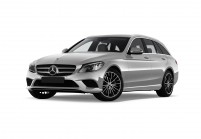 MERCEDES-BENZ C 160 Station wagon Vista laterale-frontale