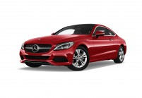 MERCEDES-BENZ C 180 Coupe Vista laterale-frontale