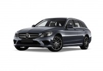 MERCEDES-BENZ C 200 Station wagon Vista laterale-frontale