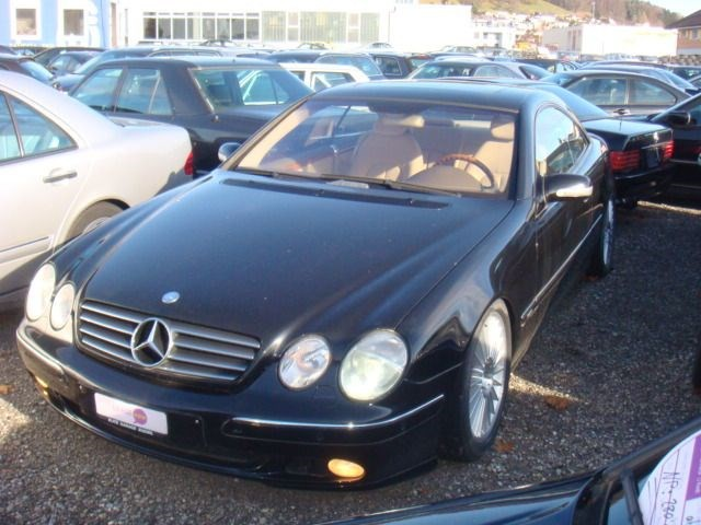 mercedes benz cl 5 8 brabus occasion benzin 33 39 000 km chf 32 39 800. Black Bedroom Furniture Sets. Home Design Ideas
