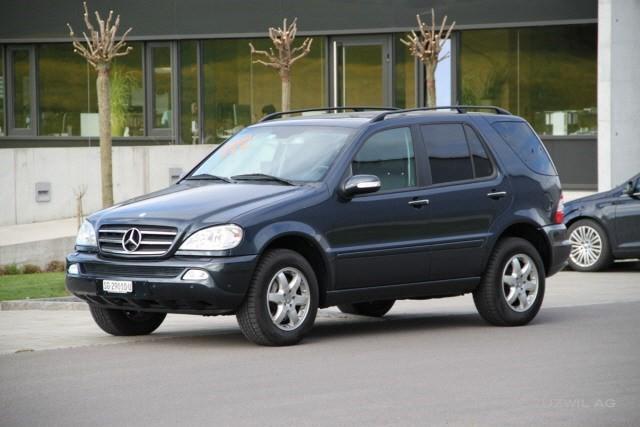 Mercedes benz ml 400 cdi occasion diesel 87 39 800 km chf for Mercedes benz suv 2002