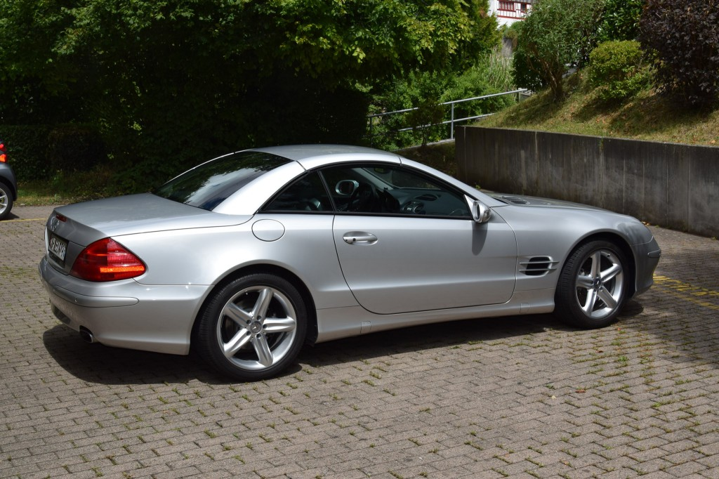 mercedes benz sl 500 automatic occasion benzin 105 39 000 km chf 14 39 900. Black Bedroom Furniture Sets. Home Design Ideas