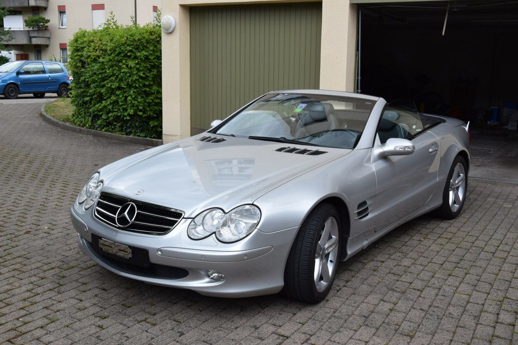 mercedes benz sl 500 automatic occasion essence 105 39 000 km chf 14 39 900. Black Bedroom Furniture Sets. Home Design Ideas