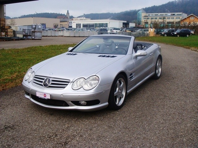 mercedes benz sl 55 amg occasion benzin 36 39 800 km chf 44 39 800. Black Bedroom Furniture Sets. Home Design Ideas