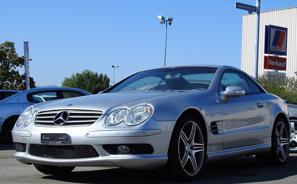 mercedes benz sl 55 amg occasion benzin 32 39 500 km chf 49 39 800. Black Bedroom Furniture Sets. Home Design Ideas