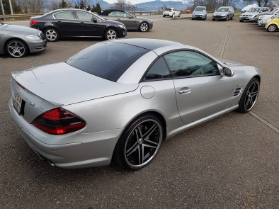 mercedes benz sl 55 amg automatic occasion benzin 48 39 300 km chf 39 39 900. Black Bedroom Furniture Sets. Home Design Ideas