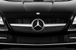 MERCEDES-BENZ SL CLASSK SLK 350 BlueEFFICIENCY -  Kühlergrill (US-Modell abgebildet)