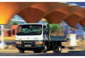 MITSUBISHI CANTER  Front + links, Weiss