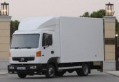 NISSAN ATLEON  Front + links, Weiss