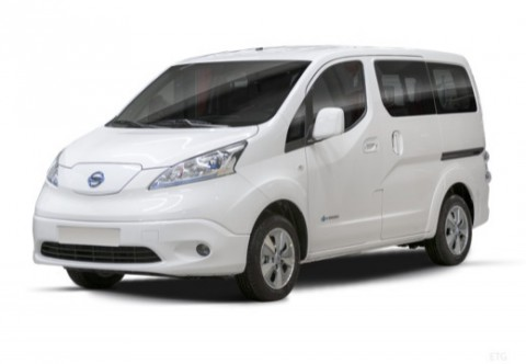 NISSAN e-NV200 Bus Front + links