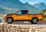 NISSAN NAVARA Chassis Front + links, Pick up, Orange