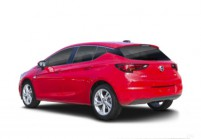 OPEL ASTRA Berlina Anteriore + sinistra, Hatchback, Rosso