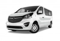 OPEL VIVARO Minibus Vista laterale-frontale