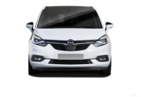 OPEL ZAFIRA Kompaktvan / Minivan Front + links, Multi Purpose Vehicle, Weiss