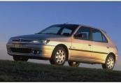 PEUGEOT   Front + links, Hatchback, Silbergrau