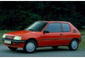 PEUGEOT   Front + links, Hatchback, Rot