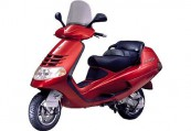 PIAGGIO   Front + links, , Bordeaux (Dunkelrot)