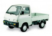 PIAGGIO PORTER  Front + links, Weiss
