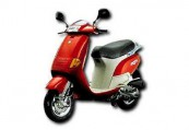 PIAGGIO Skipper  Front + links, , Rot