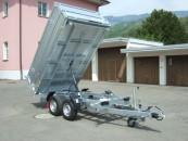 PONGRATZ 3-SKS 3100/17 3'500kg mit Bordwandaufsatz