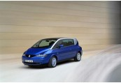RENAULT   Front + links, Stationwagon, Blau