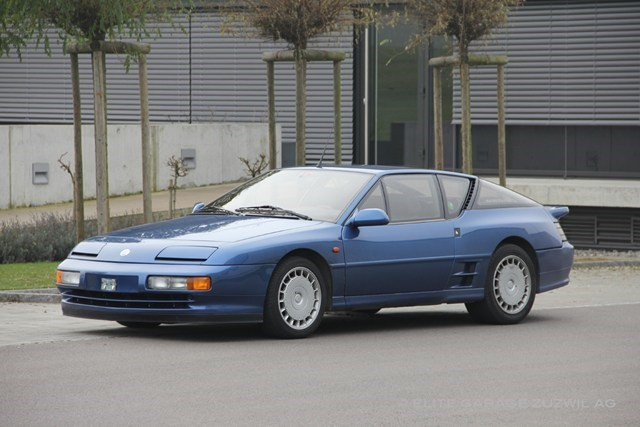renault alpine a610 turbo occasion benzin 71 39 600 km chf 49 39 800. Black Bedroom Furniture Sets. Home Design Ideas