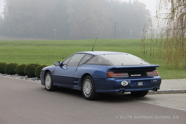 renault alpine a610 turbo occasion essence 71 39 600 km chf 49 39 800. Black Bedroom Furniture Sets. Home Design Ideas
