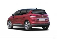 RENAULT SCÉNIC Kompaktvan / Minivan Front + links, Multi Purpose Vehicle, Rot