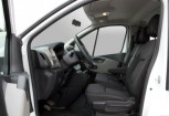 RENAULT TRAFIC Bus Front + links, Combi, Weiss