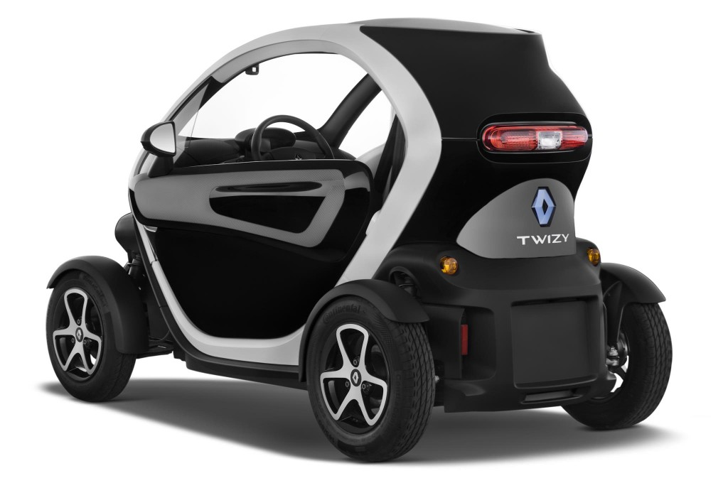 petite voiture renault twizy. Black Bedroom Furniture Sets. Home Design Ideas