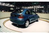 ROVER   Front + links, Hatchback, Blau