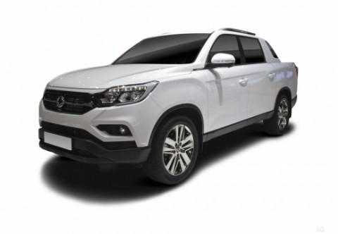 SSANG YONG MUSSO Pick-Up Doppelkabine Front + links