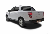 SSANGYONG MUSSO Pick-Up Doppelkabine Front + links
