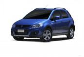 SUZUKI   Front + links, Hatchback, Blau