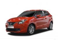 SUZUKI BALENO Kleinwagen Front + links, Hatchback, Rot