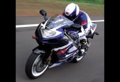SUZUKI GSX-R 1000  Front + links, , Blau