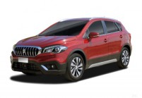 SUZUKI SX4 S-CROSS SUV / Geländewagen Front + links, Stationwagon, Rot