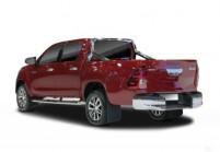 TOYOTA HI-LUX Pick-up cabina-doppia Anteriore + sinistra, Bordeaux (rosso scuro)