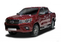 TOYOTA HI-LUX Pick-Up Doppelkabine Front + links, Bordeaux (Dunkelrot)