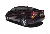 TOYOTA MIRAI Limousine Front + links, Sedan