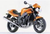 TRIUMPH Speed-Four  Front + rechts, , Orange