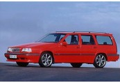 VOLVO   Front + links, Stationwagon, Rot
