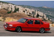 VOLVO   Front + links, Sedan, Rot